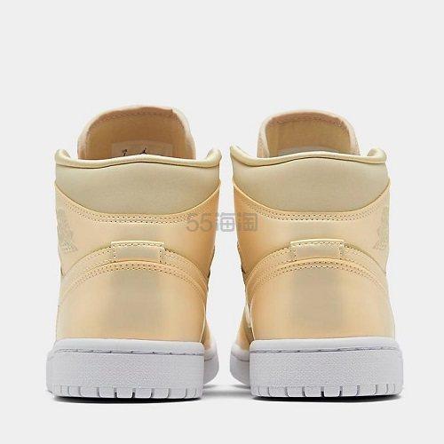 【新款上架】Air Jordan 1 Mid 变色龙 鹅毛黄柠檬 女子篮球鞋 0(约832元) - 海淘优惠海淘折扣|55海淘网