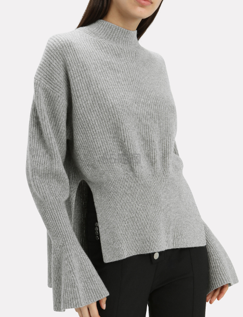 Alexander Wang 侧边开衫 100% 羊毛针织衫毛衣 9(约2,289元) - 海淘优惠海淘折扣 55海淘网