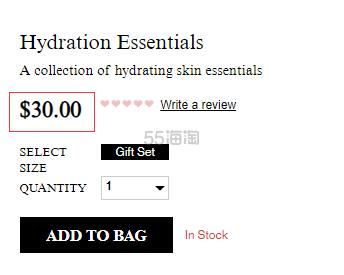Kiehls 科颜氏 圣诞限量 高保湿套装 (约209元) - 海淘优惠海淘折扣|55海淘网