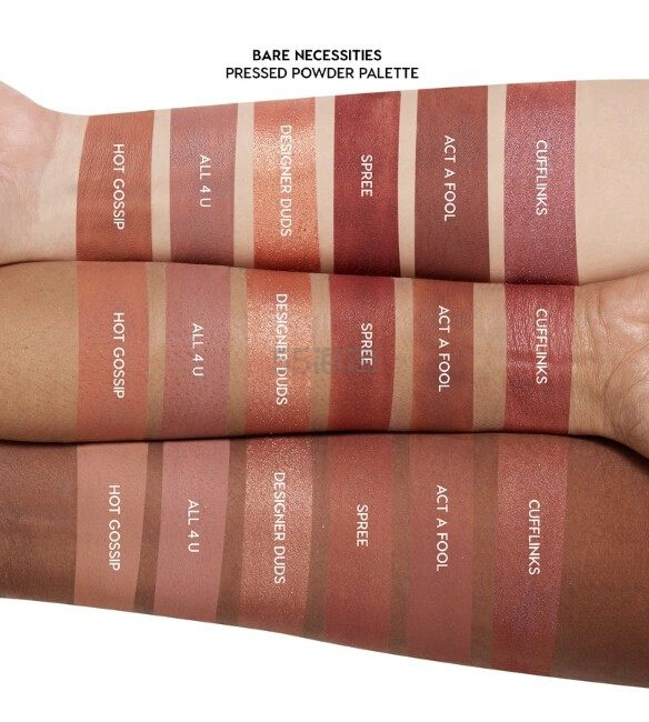 Colourpop 卡拉泡泡30色裸色眼影盘 bare necessities (约209元) - 海淘优惠海淘折扣|55海淘网