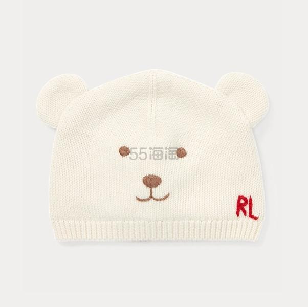 【2019黑五】Ralph Lauren 拉夫劳伦 Embroidered 小熊羊毛混纺毛线帽 .5(约87元) - 海淘优惠海淘折扣|55海淘网