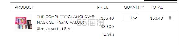 Glam Glow 格莱魅:多款套组 享6折优惠 - 海淘优惠海淘折扣 55海淘网