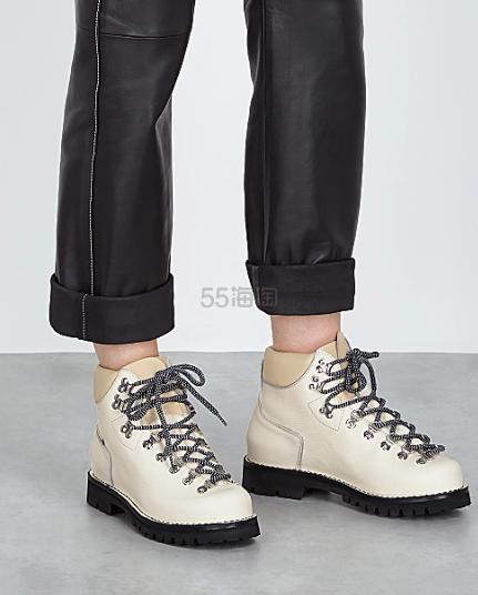 Proenza Schouler Lace up 米白短靴 0(约1,953元) - 海淘优惠海淘折扣 55海淘网