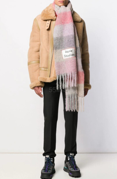 ACNE STUDIOS 条纹围巾 ¥1,890 - 海淘优惠海淘折扣|55海淘网