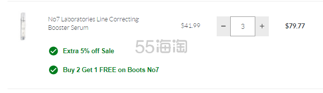 SkinStore:Boots No7 高性价比护肤 买3付2+额外9.5折 - 海淘优惠海淘折扣|55海淘网
