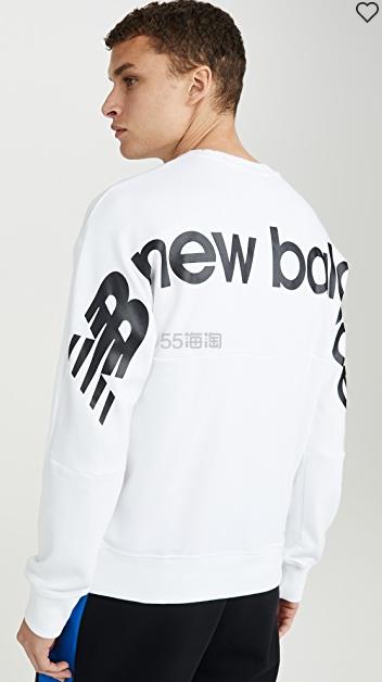 New Balance 新百伦 Sport Style Optiks 圆领运动衫 .38(约170元) - 海淘优惠海淘折扣|55海淘网