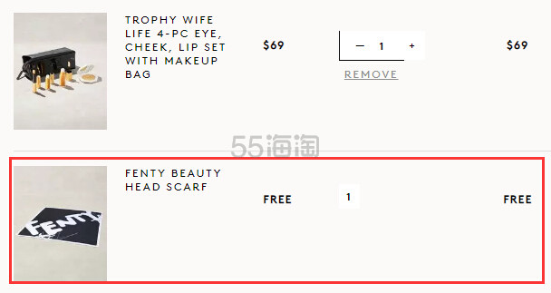 Fenty Beauty 官网:蕾哈娜自创彩妆品牌 满送品牌Logo头巾 - 海淘优惠海淘折扣 55海淘网