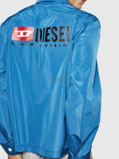 Diesel 男士基础 Logo 夹克外套 (约610元) - 海淘优惠海淘折扣|55海淘网