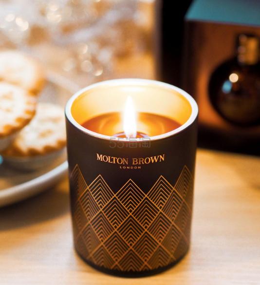 Molton Brown 摩顿布朗 白兰地香薰蜡烛 单芯 180g ¥293 - 海淘优惠海淘折扣|55海淘网
