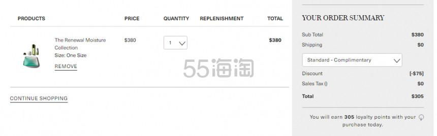 【补货】新人满0直减!La Mer 海蓝之谜 护肤礼包 5(约2,117元) - 海淘优惠海淘折扣|55海淘网