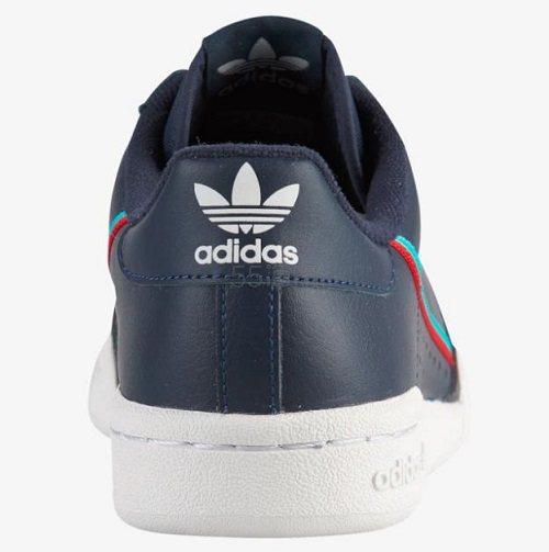 adidas Originals 三叶草 Continental 80 大童款板鞋 .99(约207元) - 海淘优惠海淘折扣 55海淘网