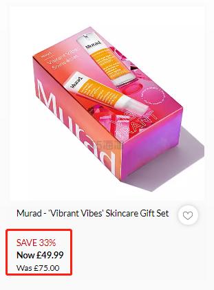 价值£140!Murad 慕拉 美白防晒护肤套装 £49.99(约457元) - 海淘优惠海淘折扣 55海淘网