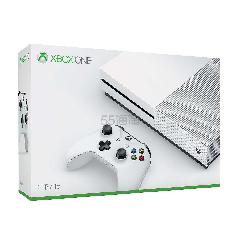 Microsoft 微软 Xbox One S 1TB 游戏机
