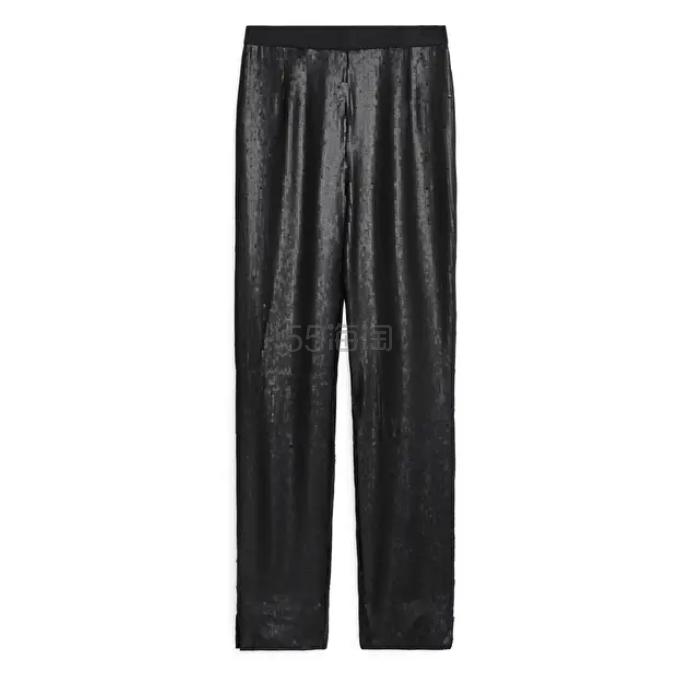 ARKET 亮片长裤 £50(约461元) - 海淘优惠海淘折扣|55海淘网