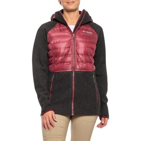 2色码全~Columbia 哥伦比亚 Snowfield Hybrid 女款连帽保暖羽绒服 (约338元) - 海淘优惠海淘折扣|55海淘网