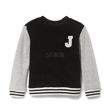 Janie and Jack 童款拼色长袖T恤衫 .79(约116元) - 海淘优惠海淘折扣|55海淘网