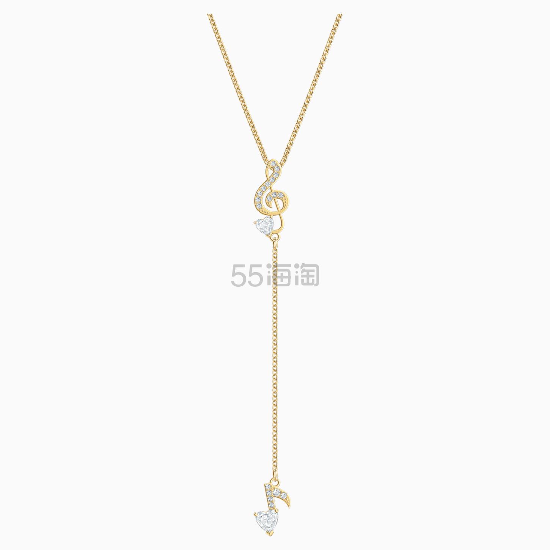 Swarovski 施华洛世奇 Pleasant 音符 Y 形项链 £39.5(约362元) - 海淘优惠海淘折扣|55海淘网
