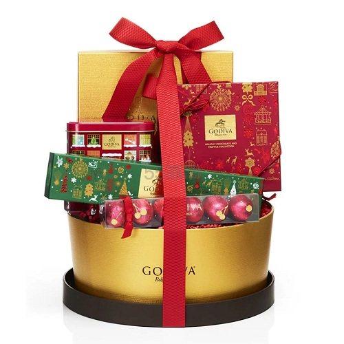 Godiva 歌帝梵 假日巧克力礼品篮 .98(约339元) - 海淘优惠海淘折扣|55海淘网