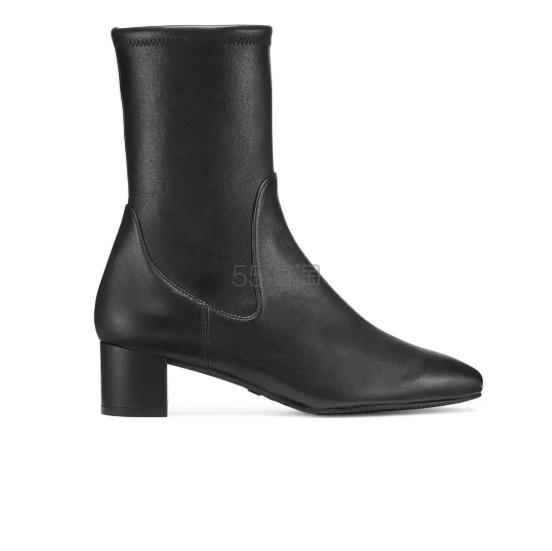 史低价!Stuart Weitzman 黑色亮皮踝靴 9(约1,356元) - 海淘优惠海淘折扣|55海淘网