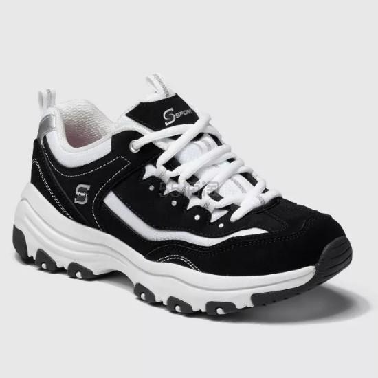 Skechers 斯凯奇 黑色女款运动鞋 (约172元) - 海淘优惠海淘折扣|55海淘网