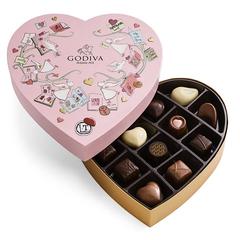 Godiva 歌帝梵美国官网:精选情人节巧克力礼盒