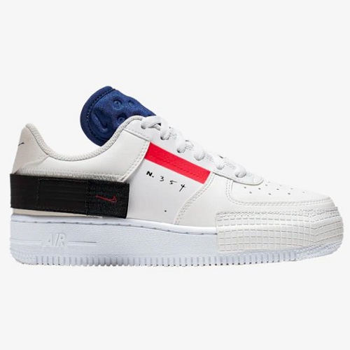 Nike 耐克 Air Force 1 Type 解构 大童款板鞋