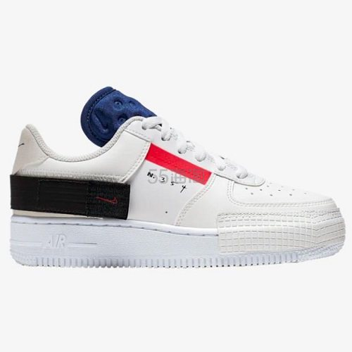 Nike 耐克 Air Force 1 Type 解构 大童款板鞋