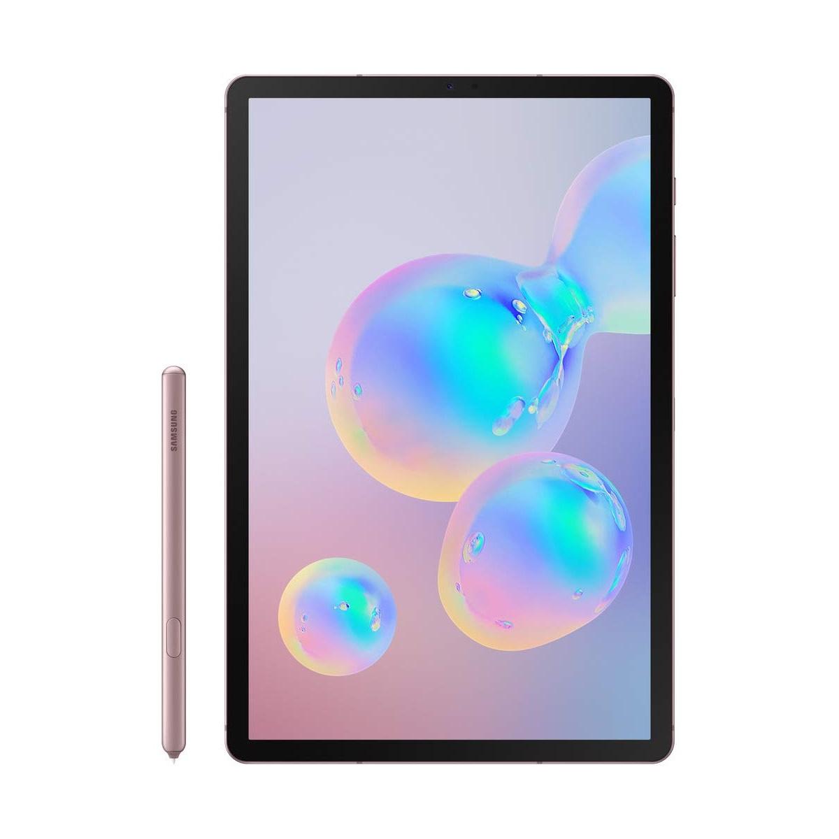 近期低价!Samsung 三星 Galaxy Tab S6 10.5英寸 平板电脑 WLAN 6GB+128GB 玫瑰粉