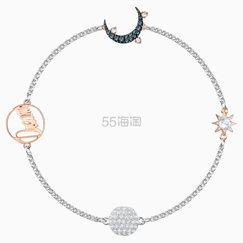 Swarovski 施华洛世奇官网 Remix Magic 月亮手链 £29.5(约267元) - 海淘优惠海淘折扣|55海淘网