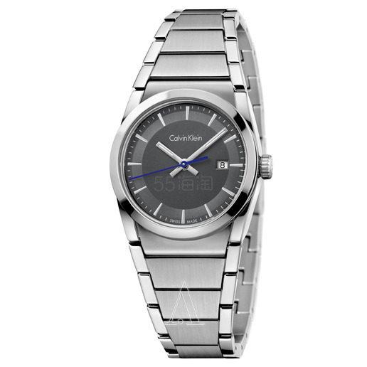 降价!Calvin Klein 卡尔文·克莱因 Step 系列 银色女士时装腕表 K6K33143 (约336元) - 海淘优惠海淘折扣|55海淘网