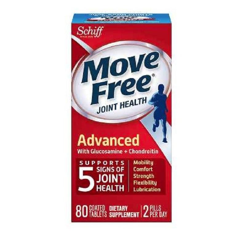 Walgreens:精选 Schiff Move Free 维骨力系列 关节保健产品