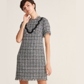Kate spade 凯特丝蓓 Tweed Short Sleeve Dress 花呢短袖连衣裙