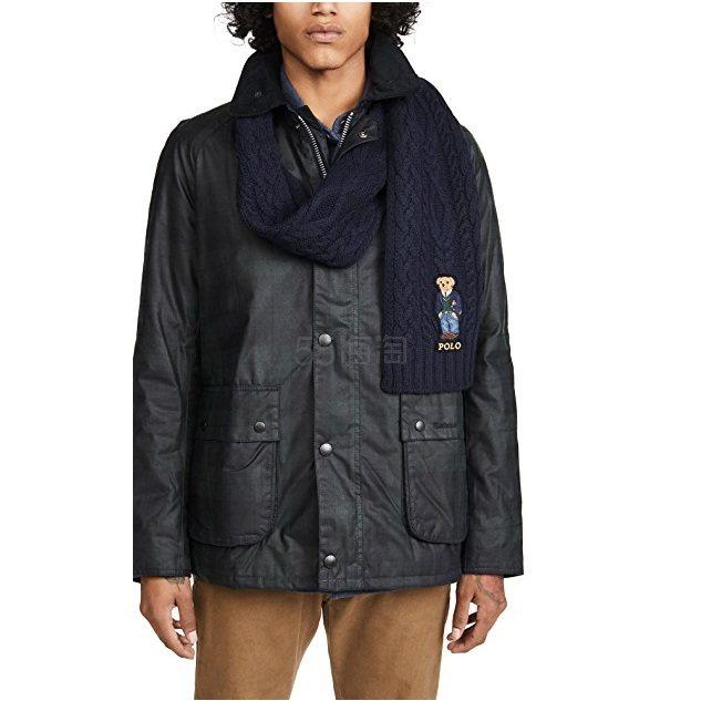 Polo Ralph Lauren 拉夫劳伦 Aran St Andrew Bear 围巾 (约631元) - 海淘优惠海淘折扣|55海淘网