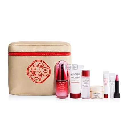 Shiseido 资生堂 红腰子精华套组 价值9 (约480元) - 海淘优惠海淘折扣|55海淘网