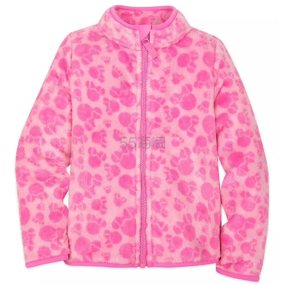 Disney 迪士尼 粉色拉链摇儿童外套 (约123元) - 海淘优惠海淘折扣|55海淘网