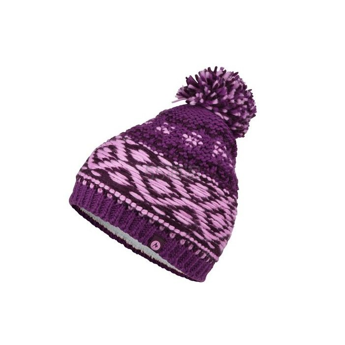 Marmot 土拨鼠 Tashina Pom 女款混合针织羊毛保暖帽 .99(约109元) - 海淘优惠海淘折扣|55海淘网