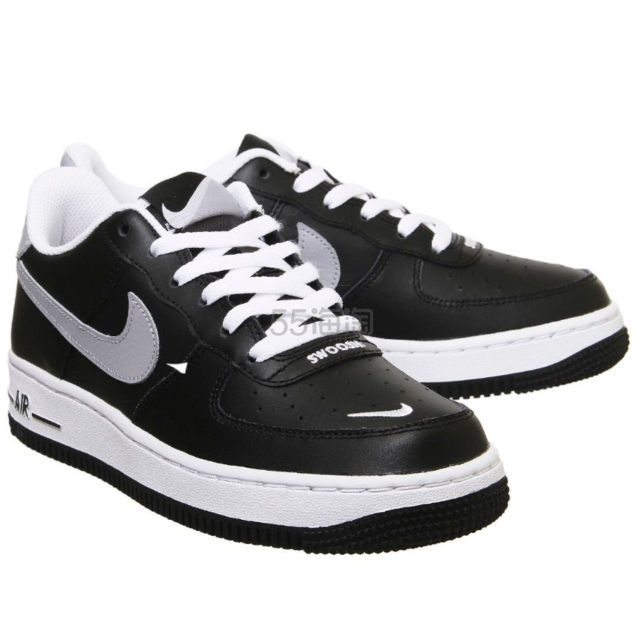 Nike 耐克 Air Force 1 空军1号 黑灰色运动鞋 £45(约403元) - 海淘优惠海淘折扣|55海淘网