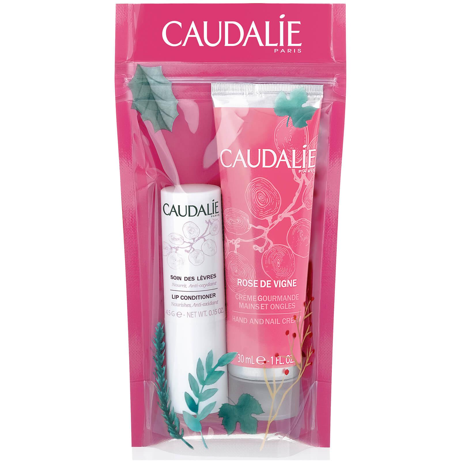 Caudalie 欧缇丽 玫瑰护手霜+润唇膏套装