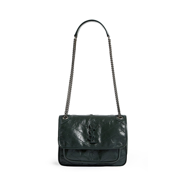 Saint Laurent Small Leather Niki 单肩包