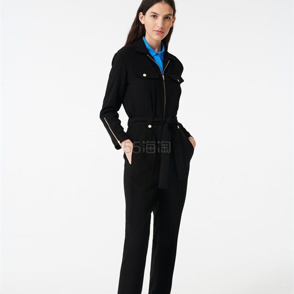 Maje 官网 拉链连体裤 2.5(约1,789元) - 海淘优惠海淘折扣 55海淘网