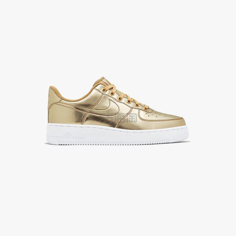 Nike Air Force 1 金色 SP 低帮运动鞋 9(约1,016元) - 海淘优惠海淘折扣|55海淘网