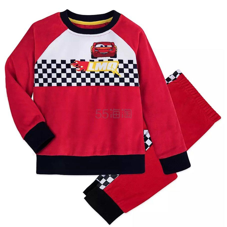Disney 迪士尼 汽车总动员 儿童睡衣套装