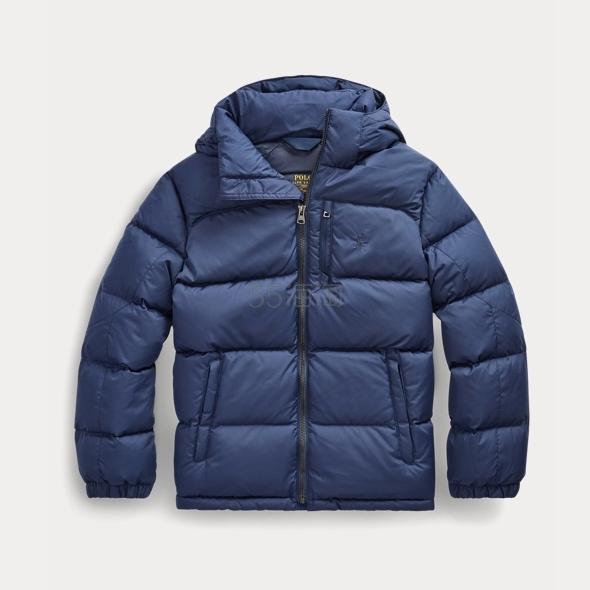 Ralph Lauren 拉夫劳伦官网 Hooded Down Jacket 8-20岁羽绒外套 .09(约410元) - 海淘优惠海淘折扣|55海淘网