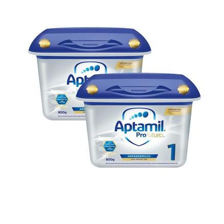 Milupa Aptamil 爱他美白金版婴儿配方奶粉 1段(0-6个月)800gx2