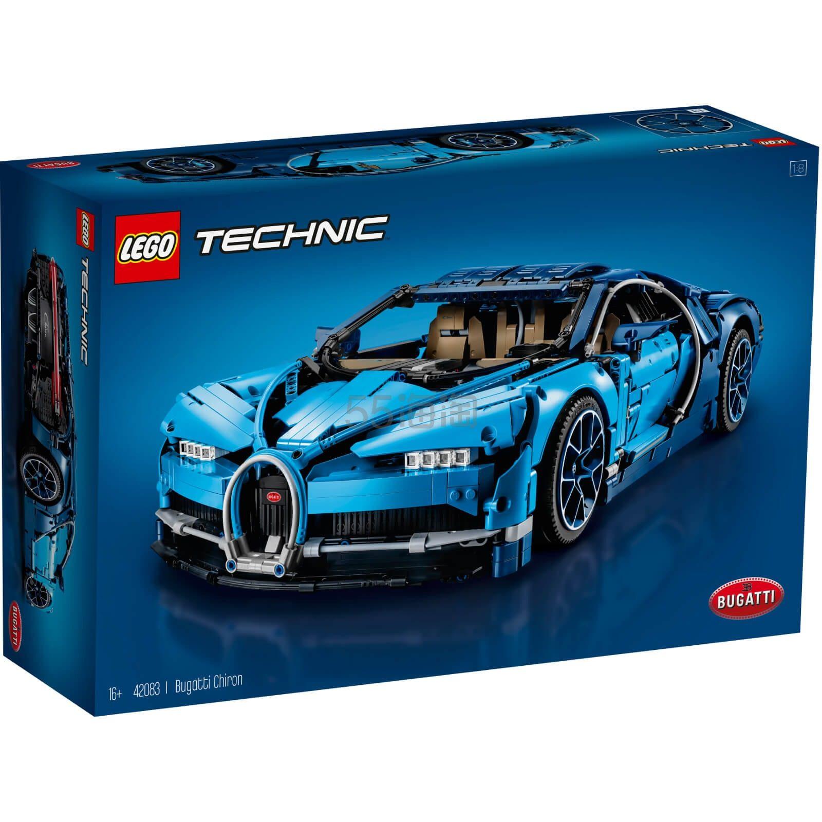 LEGO 乐高 科技系列 布加迪威龙 (42083) £219.99(约1,975元) - 海淘优惠海淘折扣|55海淘网