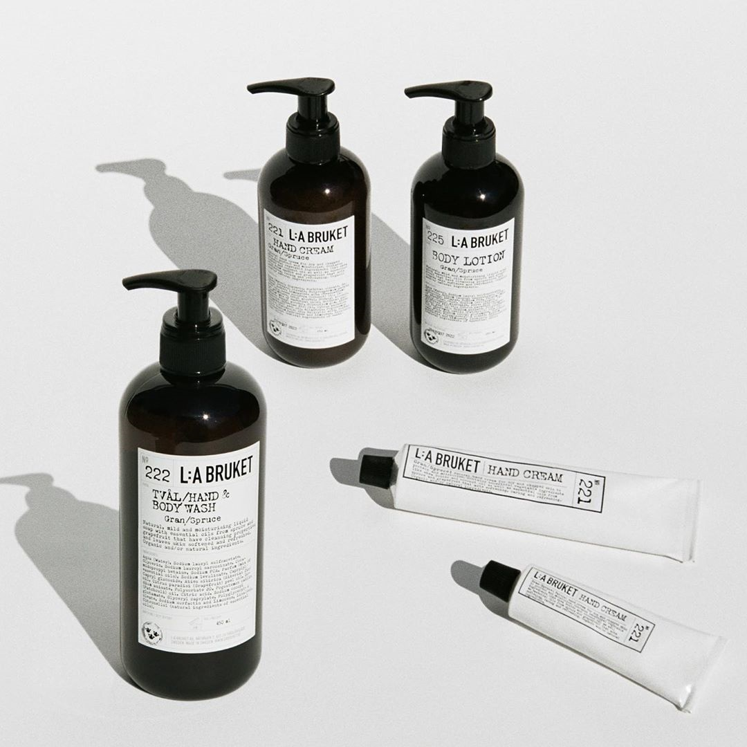 Mankind:L:A Bruket 润唇膏、护手霜等 瑞典天然植物水疗护肤
