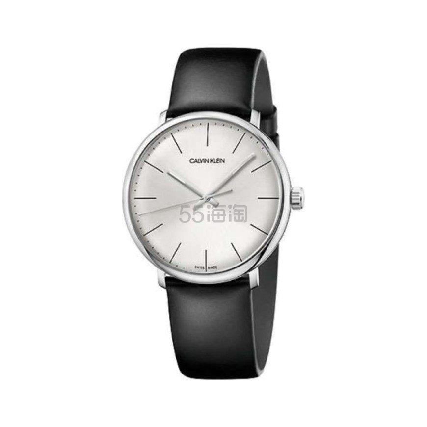 Calvin Klein 卡尔文·克莱因 High Noon 系列 银黑色男士时装腕表 .5(约324元) - 海淘优惠海淘折扣|55海淘网