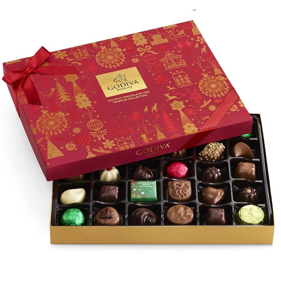 Godiva 歌帝梵 什锦巧克力节日礼品盒 32颗