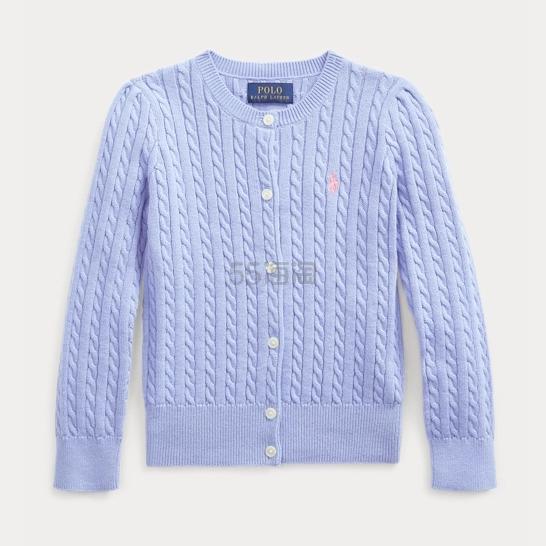 Ralph Lauren 拉夫劳伦官网 Cable-Knit Cotton Cardigan 小童开衫 .06(约109元) - 海淘优惠海淘折扣|55海淘网