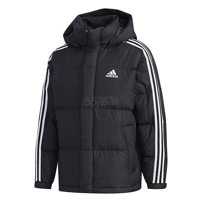 【三倍积分+高返12%】Adidas 阿迪达斯 3-Stripe Puff 男士500蓬羽绒服 8.57(约873元) - 海淘优惠海淘折扣 55海淘网